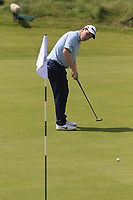 Robert Macintyre (SCO) putts on the 6th green during Thursday's Round 1 of the Dubai Duty Free Irish Open 2019, held at Lahinch Golf Club, Lahinch, Ireland. 4th July 2019.<br /> Picture: Eoin Clarke | Golffile<br /> <br /> <br /> All photos usage must carry mandatory copyright credit (© Golffile | Eoin Clarke)