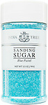 10237 Blue Pastel Sanding Sugar, Small Jar 3.5 oz