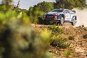 8th June 2017, Alghero, West Coast of Sardinia, Italy; WRC Rally of Sardina;  Neuville