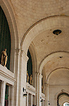 Vaulted Loggia and Centurions, Union Station, Washington DC