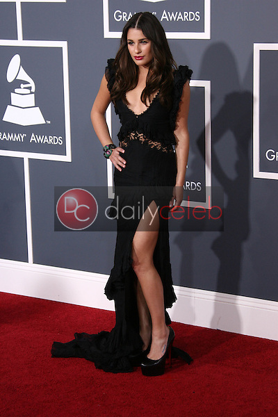 Lea Michele<br /> at the 53rd Annual Grammy Awards, Staples Center, Los Angeles, CA. 02-13-11<br /> David Edwards/DailyCeleb.com 818-249-4998