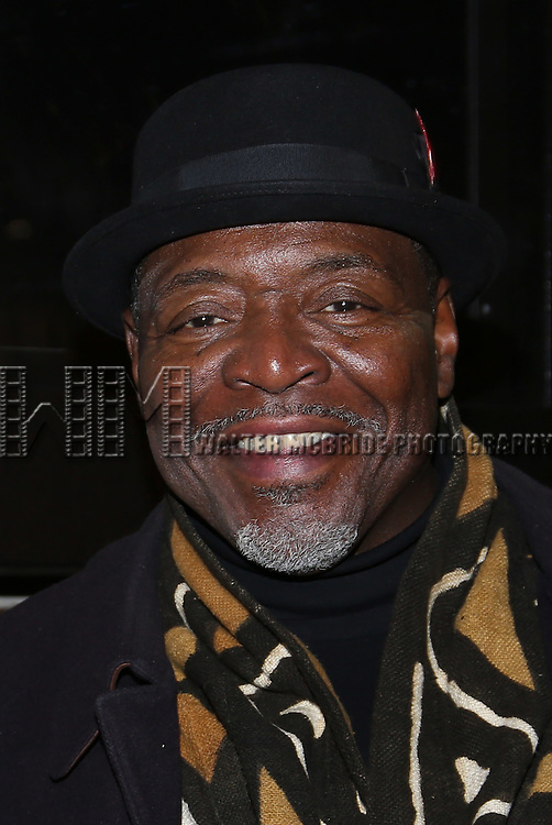 Chuck Cooper attend the Manhattan Theatre Club's Broadway debut of August Wilson's 'Jitney' at the Samuel J. Friedman Theatre on January 19, 2017 in New York City.