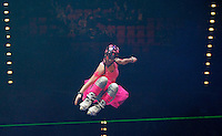 Photo: Richard Lane/Richard Lane Photography. Aviva Grand Prix. 20/02/2010. Extreme High Jump.