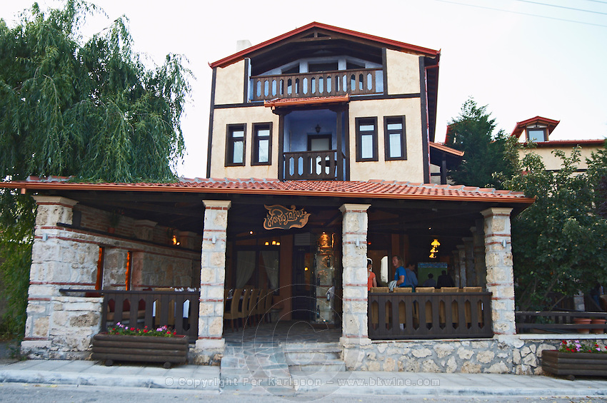 Kontosoros restaurant and guest house, Xino Nero, Amyndeo, Macedonia, Greece