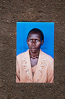 Photograph of Jennifer Anguko who bled to death during childbirth in Arua Hospital, Uganda, in October 2010. Jennifer Anguko was a local councilor and the death of her and the baby was widely reported.