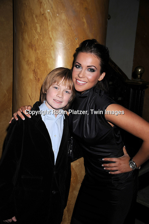 Austin Williams and Farah Fath.at The One Life to Live Holiday Party on December 19, 2007 at Capitale in New York. .Robin Platzer, Twin Images