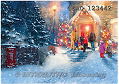 Addy, CHRISTMAS LANDSCAPE, paintings+++++,GBAD123442,#XL#