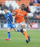 Blackpool's Armand Gnanduillet<br /> <br /> Photographer Kevin Barnes/CameraSport<br /> <br /> The EFL Sky Bet League One - Blackpool v Gillingham - Saturday 4th May 2019 - Bloomfield Road - Blackpool<br /> <br /> World Copyright © 2019 CameraSport. All rights reserved. 43 Linden Ave. Countesthorpe. Leicester. England. LE8 5PG - Tel: +44 (0) 116 277 4147 - admin@camerasport.com - www.camerasport.com