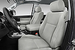 Front seat view of a 2014 Toyota Sequoia SR5 5 Door SUV front seat car photos