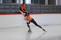 SPEED SKATING: INZELL: 08-12-2015, Max Aicher Arena, training Ireen Wüst, ©foto Martin de Jong
