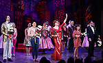 """John Behlmann, Lilli Cooper, Santino Fontana, Sarah Stiles, Reg Rogers and cast during the Broadway Opening Night of """"Tootsie"""" at The Marquis Theatre on April 22, 2019  in New York City."""