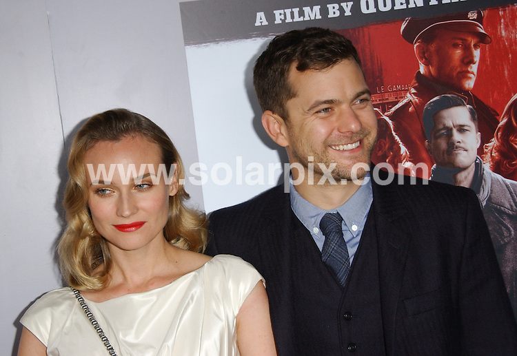 "**ALL ROUND PICTURES FROM SOLARPIX.COM**.**SYNDICATION RIGHTS FOR UK, AUSTRALIA, DENMARK, PORTUGAL, S. AFRICA, SPAIN & DUBAI (U.A.E) ONLY**.The Inglourious Basterds"" DVD Blu-Ray/DVD Launch Party at the New Beverly Cinema, Los Angeles, CA. USA. 14 December 2009..This pic: Diane Kruger and Joshua Jackson..JOB REF: 10402 PHZ Ortega   DATE: 14_12_2009.**MUST CREDIT SOLARPIX.COM OR DOUBLE FEE WILL BE CHARGED**.**MUST NOTIFY SOLARPIX OF ONLINE USAGE**.**CALL US ON: +34 952 811 768 or LOW RATE FROM UK 0844 617 7637**"
