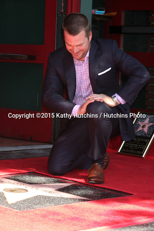 LOS ANGELES - MAR 5:  Chris O'Donnell at the Chris O'Donnell Hollywood Walk of Fame Star Ceremony at the Hollywood Blvd on March 5, 2015 in Los Angeles, CA