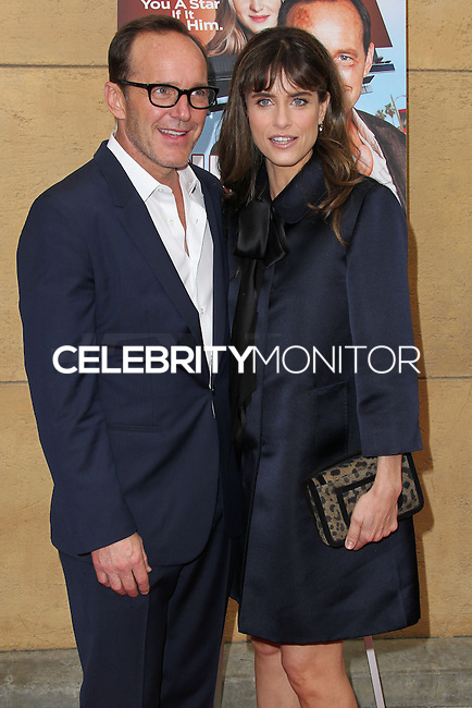 HOLLYWOOD, LOS ANGELES, CA, USA - MAY 22: Clark Gregg, Amanda Peet at the Los Angeles Premiere Of 'Trust Me' held at the Egyptian Theatre on May 22, 2014 in Hollywood, Los Angeles, California, United States. (Photo by Xavier Collin/Celebrity Monitor)
