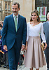 14.07.2017; Oxford,UK: KING FELIPE AND QUEEN LETIZIA OF SPAIN<br /> visit Oxford the city of dreaming spires.<br /> On the last day of their 3-day Sate Visit to the UK they visited Oxford University&rsquo;s Weston Library and Exeter College.<br /> Picture show: Queen Letizia and King Felipe visiting Weston Library.<br /> Mandatory Photo Credit: &copy;Joe Dias/NEWSPIX INTERNATIONAL<br /> <br /> IMMEDIATE CONFIRMATION OF USAGE REQUIRED:<br /> Newspix International, 31 Chinnery Hill, Bishop's Stortford, ENGLAND CM23 3PS<br /> Tel:+441279 324672  ; Fax: +441279656877<br /> Mobile:  07775681153<br /> e-mail: info@newspixinternational.co.uk<br /> Usage Implies Acceptance of Our Terms &amp; Conditions<br /> Please refer to usage terms. All Fees Payable To Newspix International