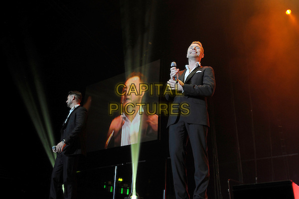 LONDON, ENGLAND - December 21: Ronan Keating of Boyzone performs in concert at Wembley Arena on December 21st, 2013 in London, England. UK.<br /> CAP/MAR<br /> &copy; Martin Harris/Capital Pictures