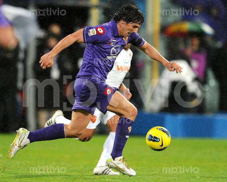 FUSSBALL INTERNATIONAL   SERIE A   SAISON 2011/2012    AC Florenz - AS Rom   04.12.2011 Stevan Jovetic (AC Florenz)