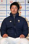Hiraku Misawa (JPN), DECEMBER 24, 2013 - Alpine Skiing : Sochi Paralympics Japanese team first-order announcement press conference at Nihonbashi Hamacho F Tower Plaza, Tokyo, Japan. (Photo by AFLO SPORT)