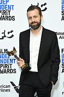 08 February 2020 - Santa Monica - Jarin Blaschke. 2020 Film Independent Spirit Awards - Press Room held at Santa Monica Pier. Photo Credit: Birdie Thompson/AdMedia