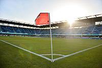 San Jose, CA - Saturday April 14, 2018: Avaya Stadium prior to a Major League Soccer (MLS) match between the San Jose Earthquakes and the Houston Dynamo at Avaya Stadium.