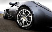 the new supercharged Lotus Elise photographed near Glasgow - picture by Donald MacLeod 07.04.08