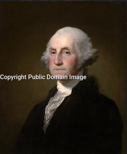 George Washington, en 1797, par Gilbert Stuart.