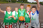 At the team Kerry Basketball camp at Mounthawk School on Thursday were: Sarah McCarthy, Millie Luck, Josh Hayes, Gary O'Sullivan, David Daly.