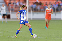 Houston, TX - Sunday Sept. 11, 2016: Louise Schillgard during a regular season National Women's Soccer League (NWSL) match between the Houston Dash and the Boston Breakers at BBVA Compass Stadium.