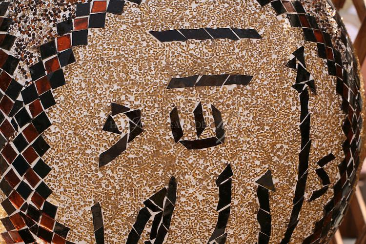 Mozaic Lamp Shade, Souq waqif | Mar 10
