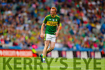 Johnny Buckley, Kerry in action against  Kildare in the All Ireland Quarter Final at Croke Park on Sunday.