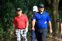 Patrick Reed (USA) during the pro-am at the WGC HSBC Champions, Sheshan Golf Club, Shanghai, China. 30/10/2019.<br /> Picture Fran Caffrey / Golffile.ie<br /> <br /> All photo usage must carry mandatory copyright credit (© Golffile | Fran Caffrey)
