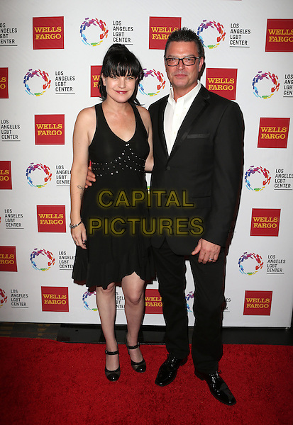 Century City, CA - November 07 Pauley Perrette, Thomas Arklie Attending 46th Anniversary Gala Vanguard Awards - Arrivals At the Hyatt Regency Century Plaza On November 07, 2015. <br /> CAP/MPI/FS<br /> &copy;FS/MPI/Capital Pictures