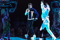 Liam Payne performs during the show of the 2017 MTV Europe Music Awards, EMAs, at SSE Arena, Wembley, in London, Great Britain, on 12 November 2017. Photo: Hubert Boesl <br />
