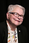 Paula Vogel attends the 2017 Tony Awards Meet The Nominees Press Junket at the Sofitel Hotel on May 3, 2017 in New York City.