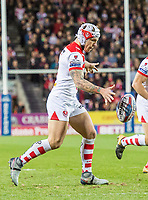 Picture by Allan McKenzie/SWpix.com - 06/04/2018 - Rugby League - Betfred Super League - St Helens v Hull FC - The Totally Wicked Stadium, Langtree Park, St Helens, England - Theo Fages.