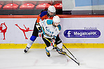 Medical Kings Player Ying Yeung (r) in action during the Principal Standard League match between Principal vs Winner Medical Kings at the Mega Ice on 03 January 2017 in Hong Kong, China. Photo by Marcio Rodrigo Machado / Power Sport Images