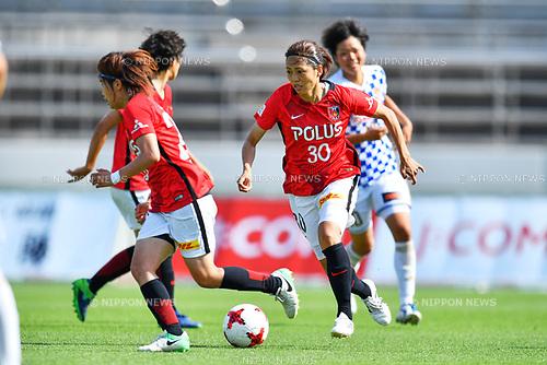「/Kozue Ando (Reds Ladies), <br /> JUNE 17, 2017 - Football / Soccer : <br /> Plenus Nadeshiko League Cup 2017 Division 1 <br /> match between Urawa Reds Ladies 0-0 Vegalta Sendai Ladies <br /> at Saitama Urawa Komaba Stadium in Saitama, Japan. <br /> (Photo by MATSUO.K/AFLO SPORT)