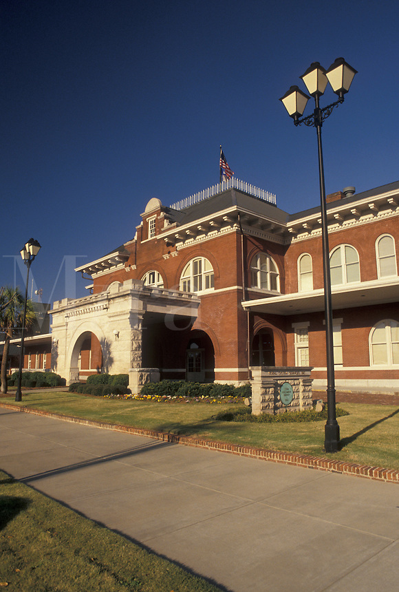 train station, Georgia, Columbus, GA, Train depot in Columbus.