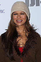 HOLLYWOOD, CA - DECEMBER 01: Nia Peeples arriving at the 82nd Annual Hollywood Christmas Parade held at Hollywood Boulevard on December 1, 2013 in Hollywood, California. (Photo by Xavier Collin/Celebrity Monitor)