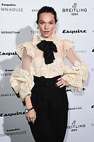 LONDON, UK. October 16, 2019: Anna Brewster arriving for the Esquire Townhouse 2019 launch party, London.<br /> Picture: Steve Vas/Featureflash