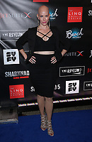 06 August 2017 - Las Vegas, NV - Jannica Olin.  Sharknado 5 Global Swarming red carpet premiere at Linq Hotel and Casino. Photo Credit: MJT/AdMedia