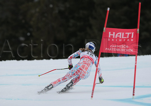 11.02.2011  FIS ALPINE WORLD SKI CHAMPIONSHIPS. VONN Lindsey in Garmisch-Partenkirchen, Germany.