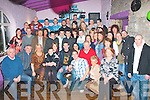 Mark Griffin,Doon,Tralee celebrated his 21st birthday last Saturday night in the Greyhound bar,Pembroke St,Tralee with a massive party of family and friends.