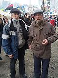 Mit dem Rücken zur Wand / Protagonisten auf dem Maidan