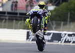 12.06.2015 Montmelo. Fim. GP Monster energy of Catalonia. Picture show Valentino Rossi Movistar Tamaha MotoGP in action during friday free practice
