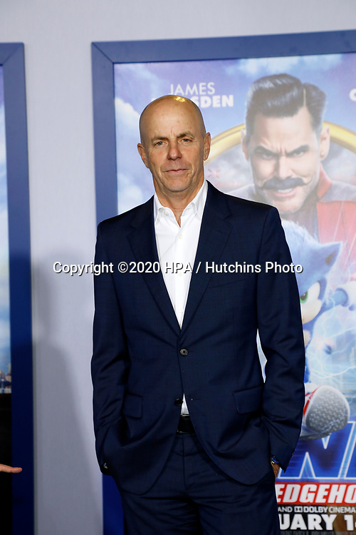 "LOS ANGELES - FEB 12:  Neal Moritz at the ""Sonic The Hedgehog"" Special Screening at the Village Theater on February 12, 2020 in Westwood, CA"