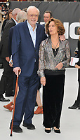 "Sir Michael Caine and Francesca Annis at the ""King of Thieves"" world film premiere, Vue West End, Leicester Square, London, England, UK, on Wednesday 12 September 2018.<br /> CAP/CAN<br /> ©CAN/Capital Pictures"