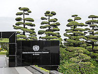 UN-Gedenkfriehof-United Nations Memorial Cemetery, Busan, Gyeongsangnam-do, S&uuml;dkorea, Asien<br /> United Nations Memorial Cemetery, Busan,  province Gyeongsangnam-do, South Korea, Asia