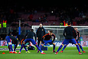 5th December 2017, Camp Nou, Barcelona, Spain; UEFA Champions League football, FC Barcelona versus Sporting Lisbon; FC Barcelona warm ups before the match