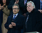 Everton owner Farhad Moshiri and Bill Kenwright during the Emirates FA Cup match at Goodison Park. Photo credit should read: Philip Oldham/Sportimage
